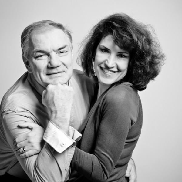 Séance photo couple en studio : Pierrette et Gérard