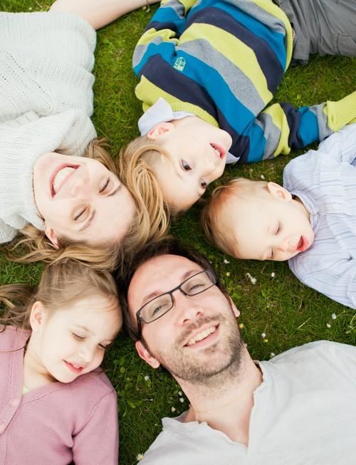 Séance photo en famille (Essone 91) : Brice, Elise et leur 3 enfants !