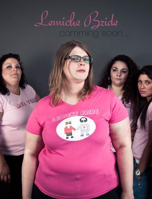 Séance photo EVJF : Marie-Julie et les filles !