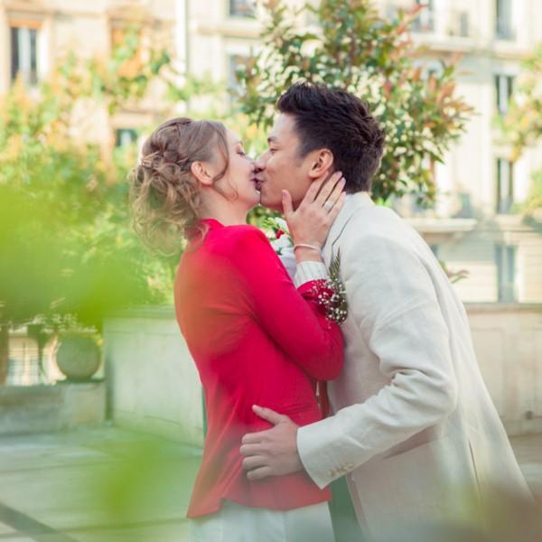 Reportage du mariage civil de Roland et Swanny à Paris