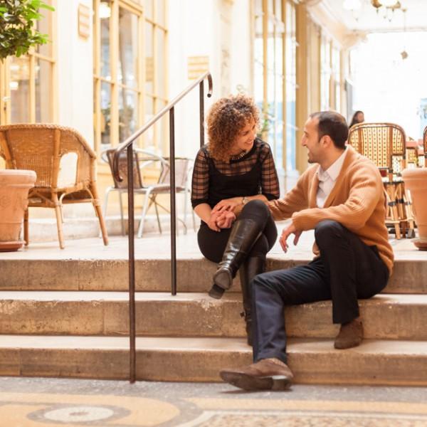 Séance photo de couple dans Paris : Mohammed et Habiba