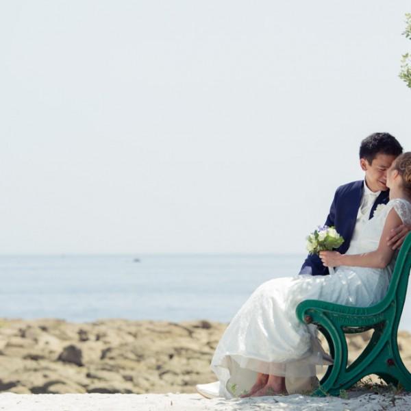 Reportage photo : Le mariage en Bretagne de Swanny et Roland