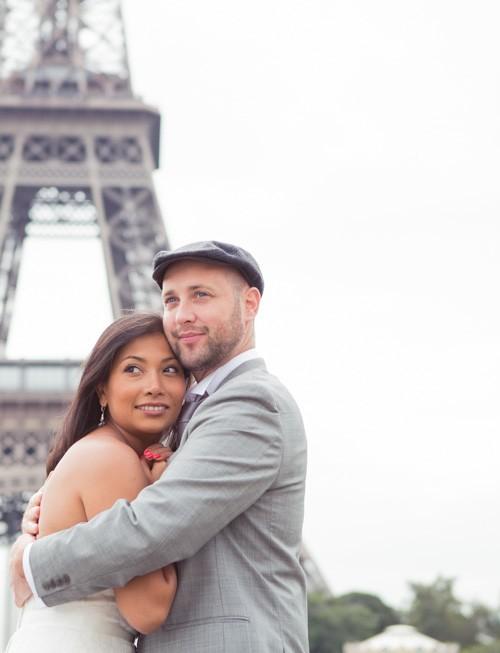 Séance Day after dans Paris :  Viviana & Julien
