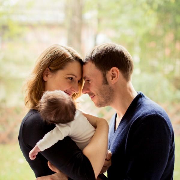 Séance nouveau-né à domicile - La jolie Eve