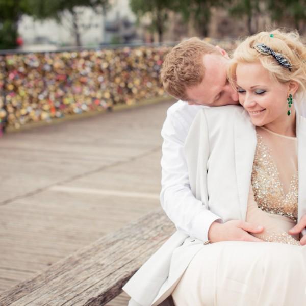 Seance photo de couple à Paris : Katerina & Sacha