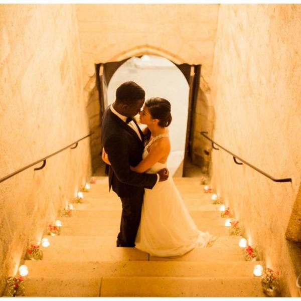 Reportage mariage à l'abbaye du Moncel