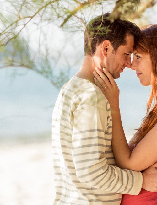 Séance engagement sur la plage : Elodie et Gregory