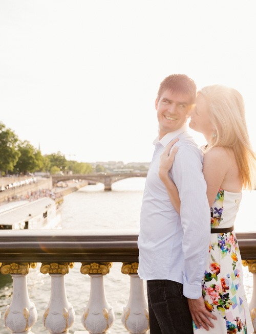 Seance photo de couple à Paris - Engagement Alex et Brice