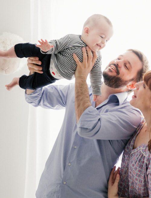 Séance photo bébé à domicile à Paris