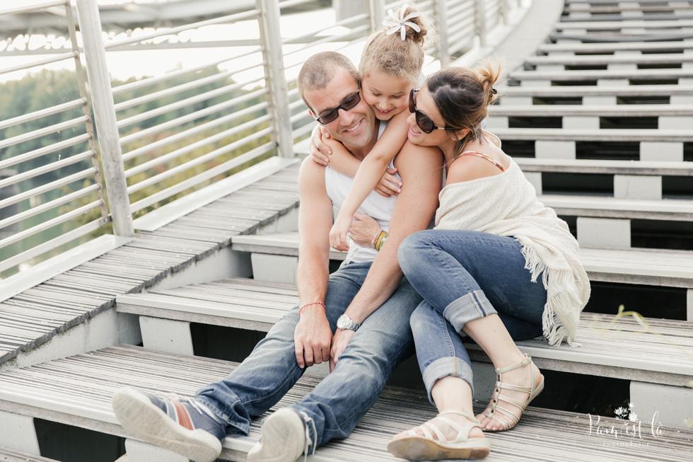 séance photo famille en extérieur avec Agnes Colombo