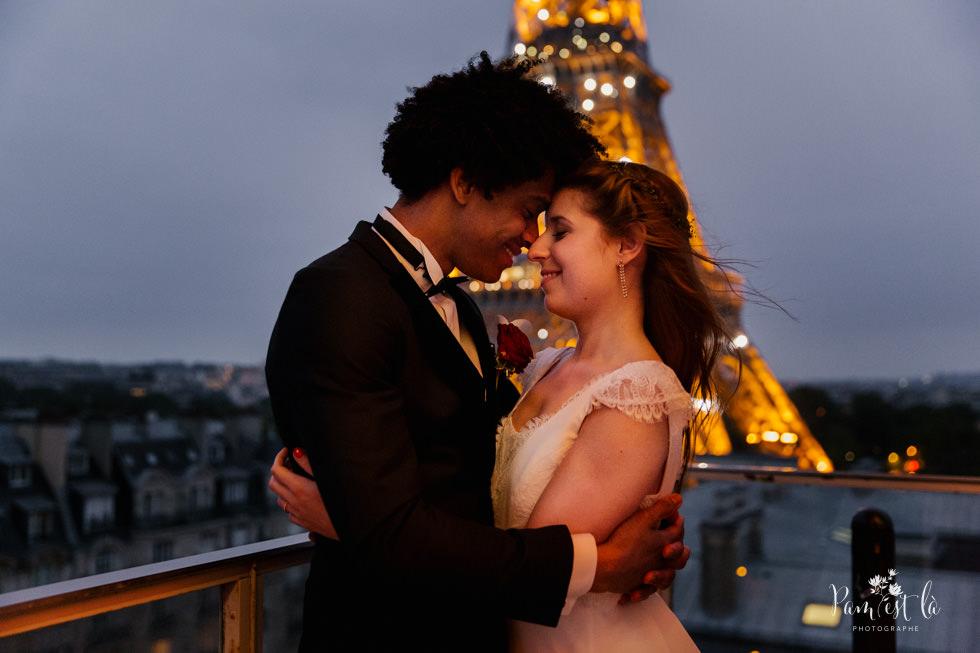 Mariage à l'hôtel Pullman Paris Tour Eiffel