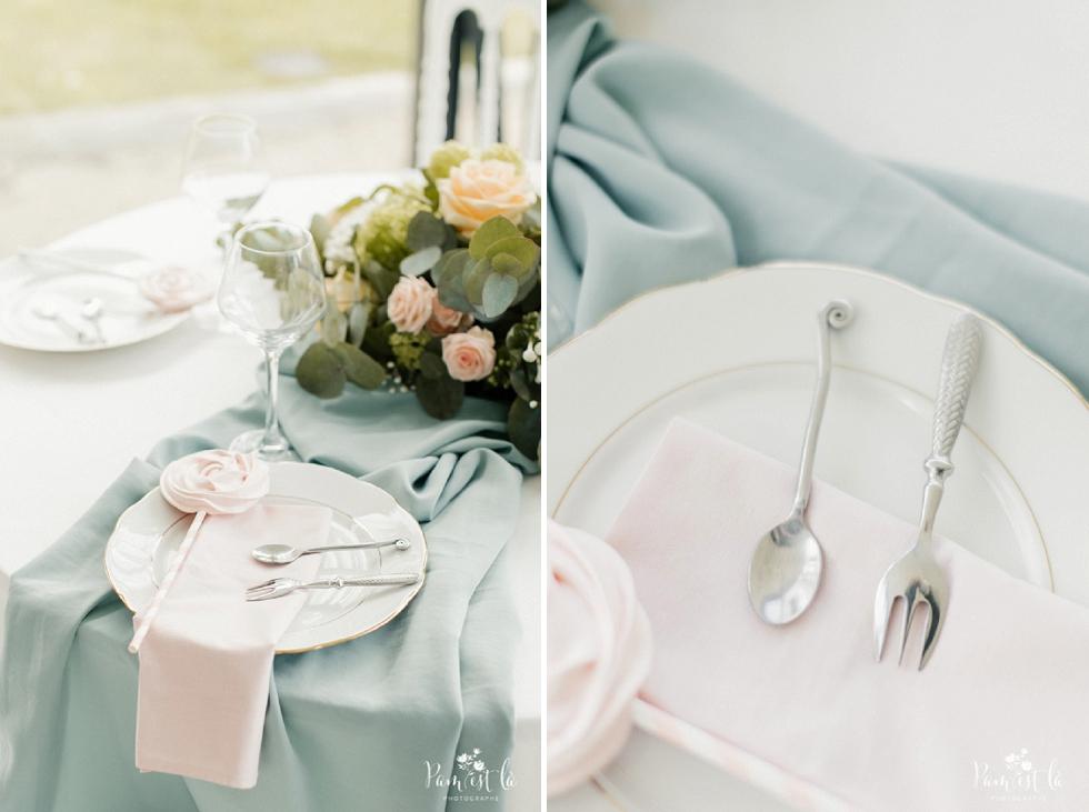 Décoration table de mariage - Domaine de Montjoie - Pam est là photographe Haute Garonne