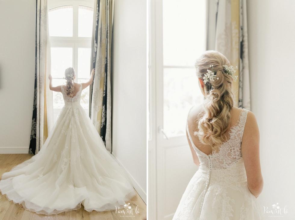 Photo de la mariée au domaine de Montjoie - Pam est là photographe de mariage Haute Garonne