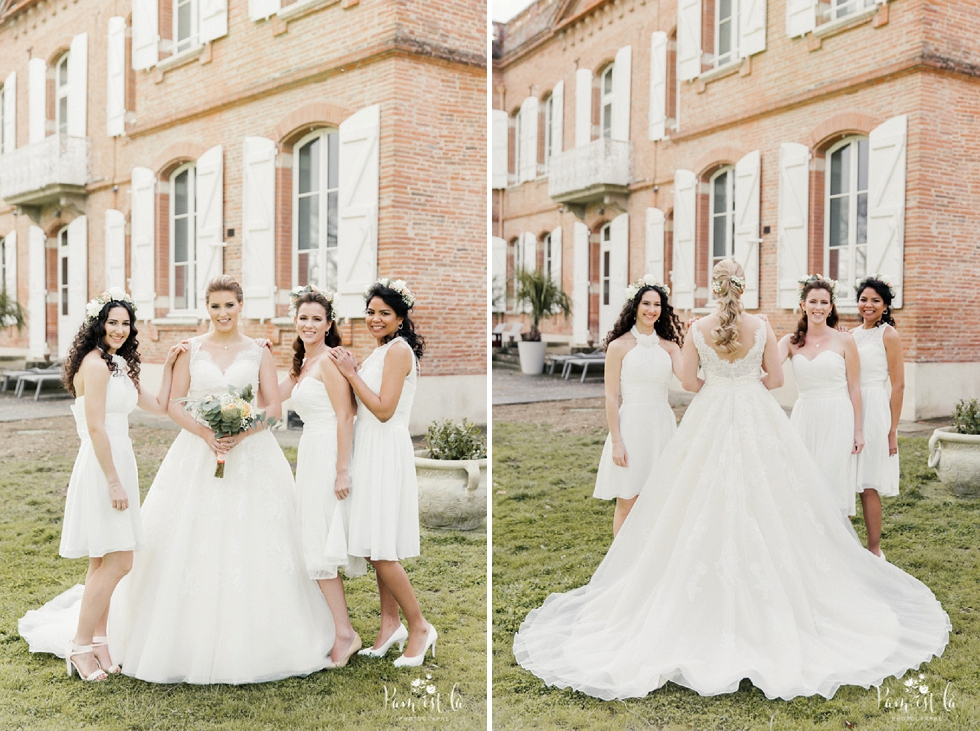 Préparatifs de la mariée au domaine de Montjoie - Pam est là photographe haute Garonne