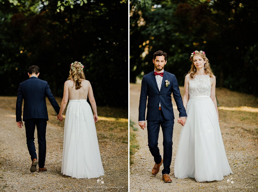 Photos de mariés au château de Launac