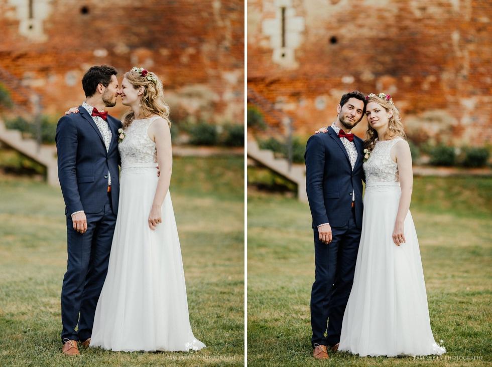 Couple au château de Launac