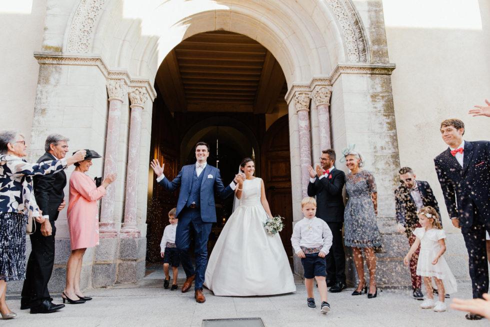 Mariage à l'église de Revel