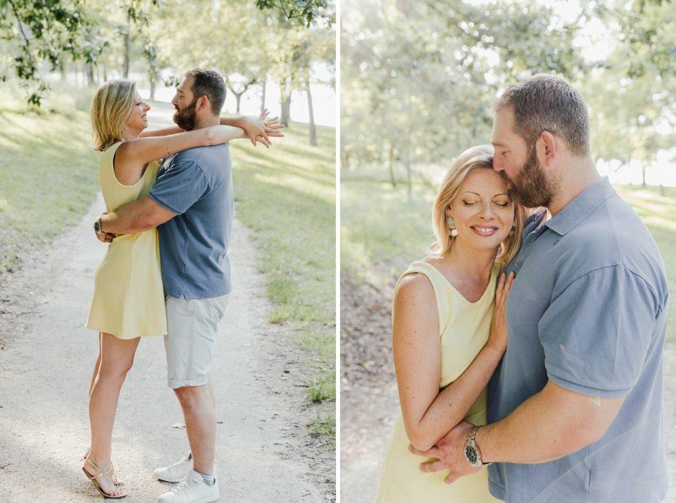 Photos de couple  autour du lac de Flourens