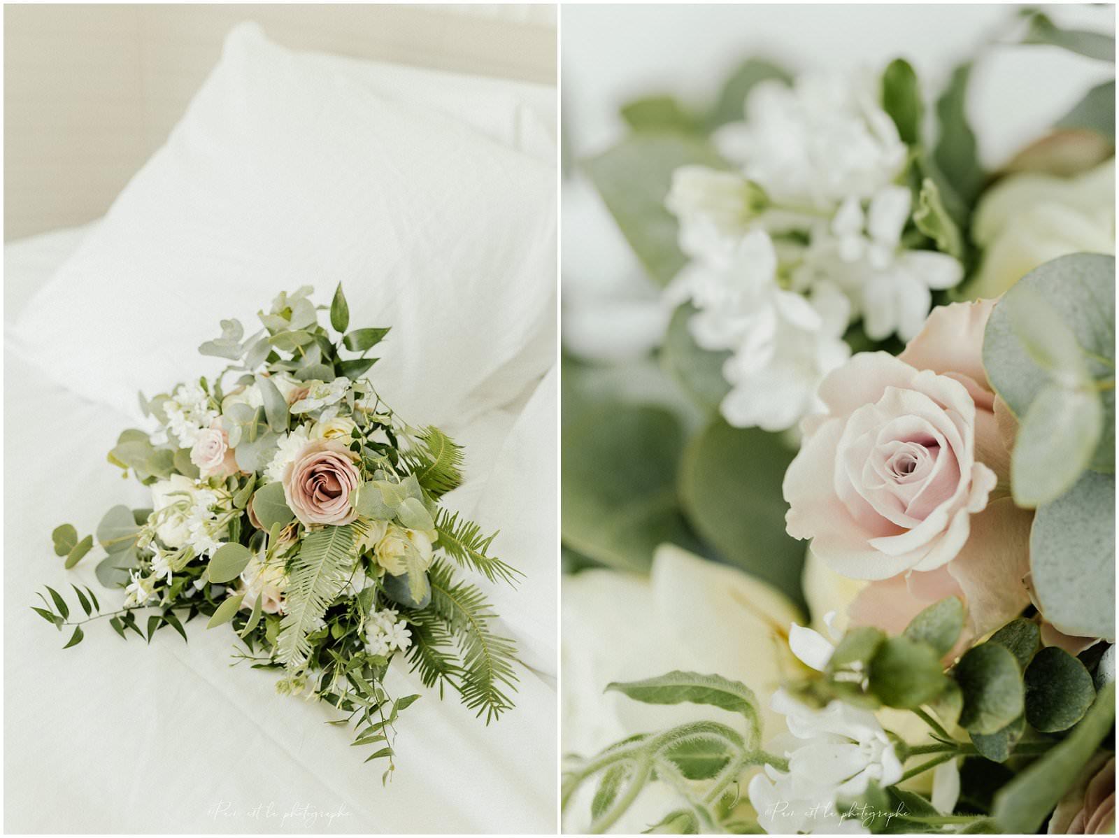 Bouquet de la mariée à l'hôtel Molitor, Paris