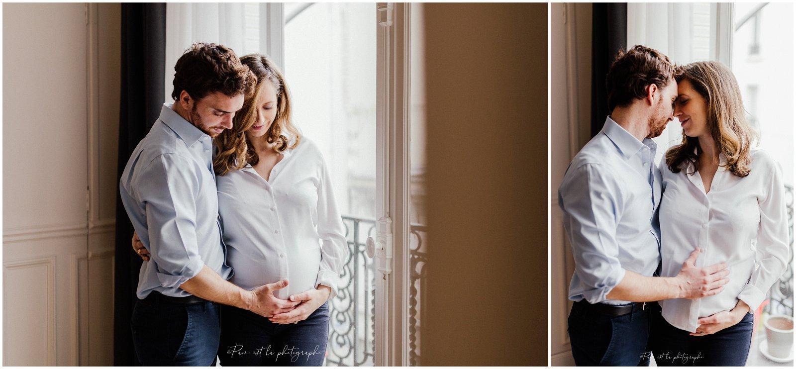 Séance photo grossesse à domicile