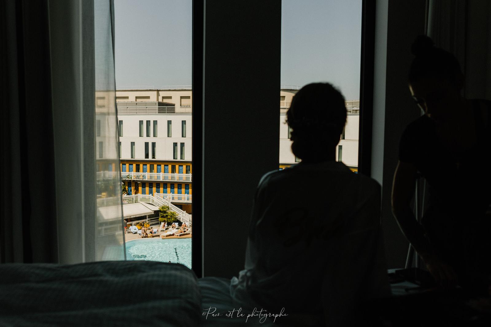 Préparatifs mariage à l'Hôtel Molitor