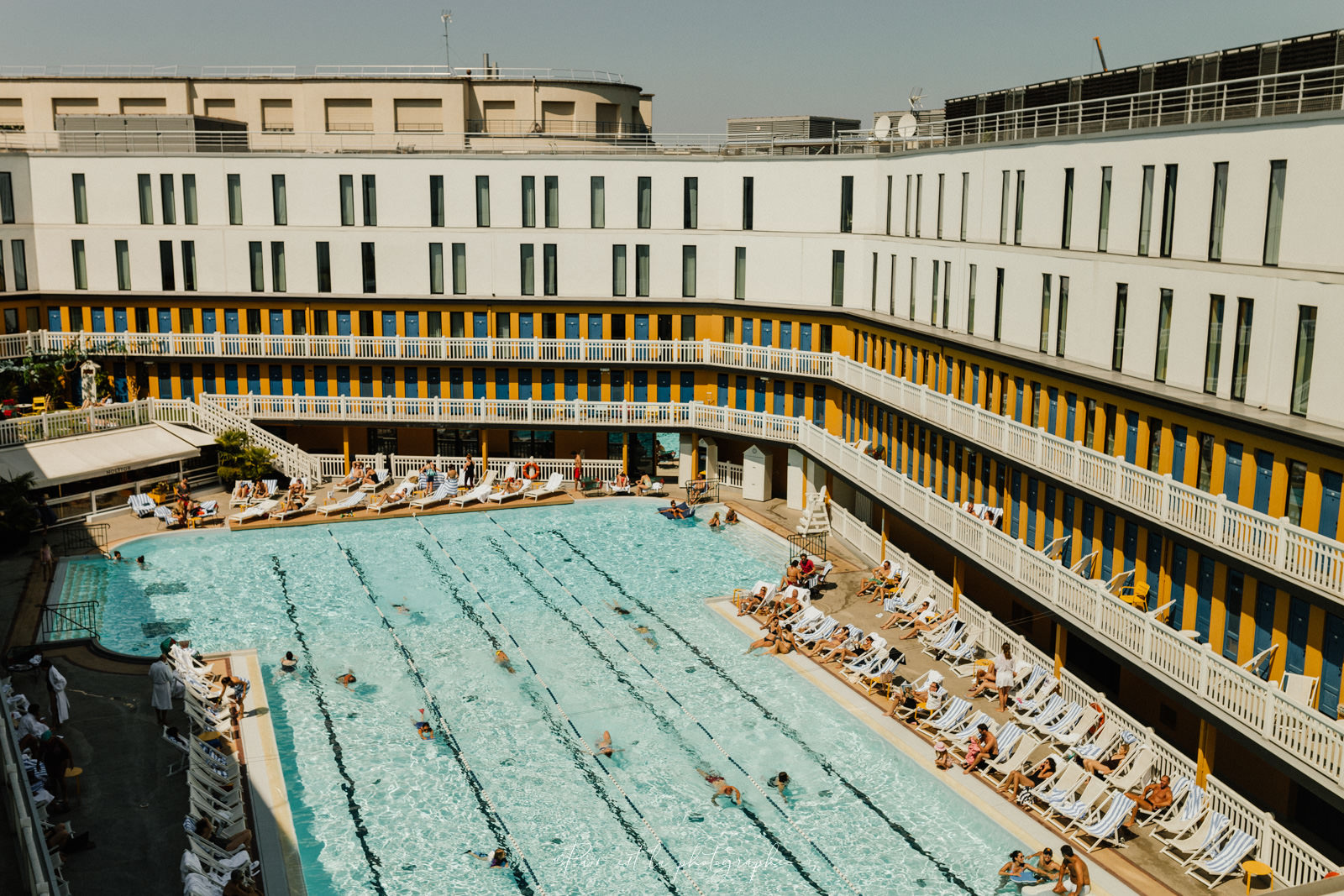 photo de l'Hôtel Molitor avec piscine à Paris