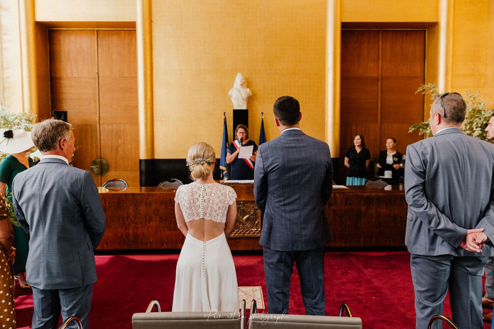 Mariage à la mairie de Boulogne Billancourt