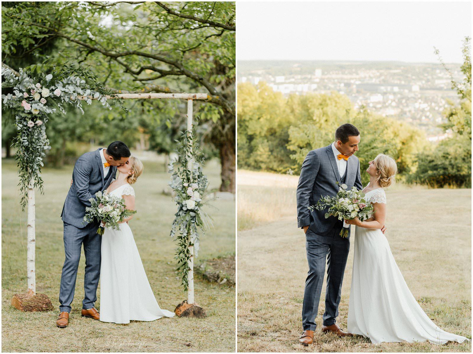 Photo de couple photographe de mariage, Pam est là