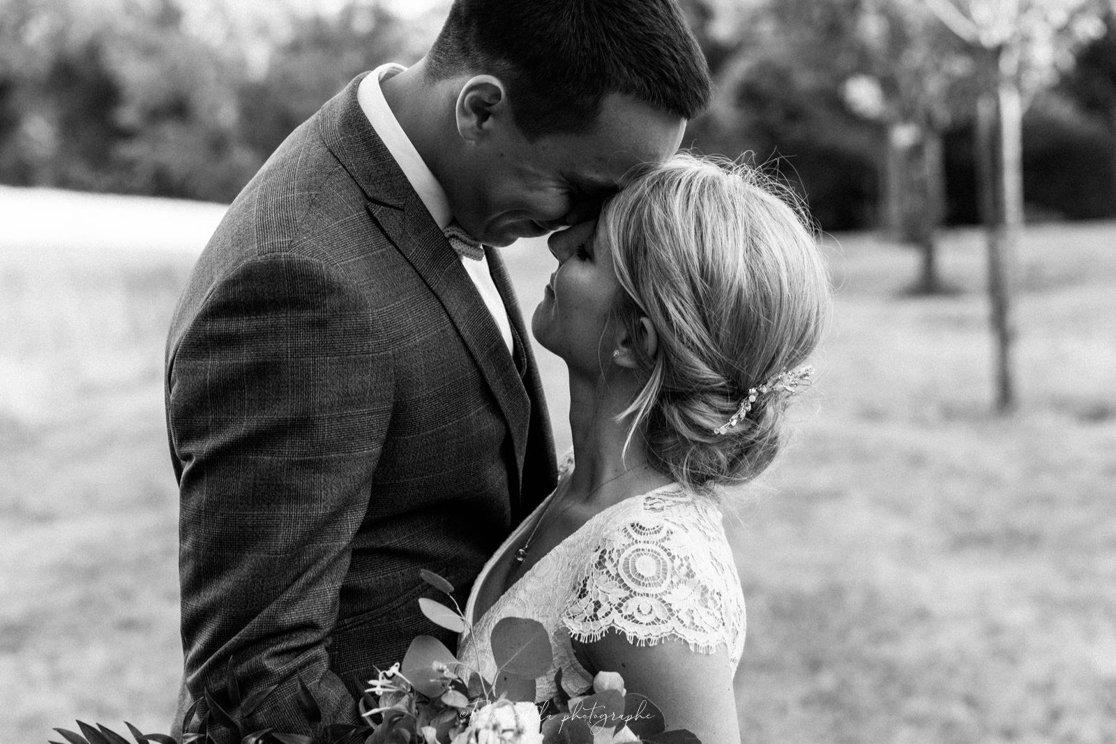 Photo de couple Mariage en Noir et Blanc